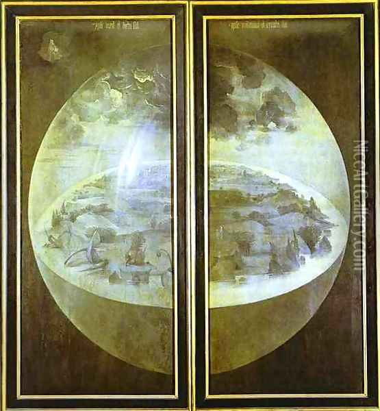 Creation of the World Oil Painting - Hieronymous Bosch