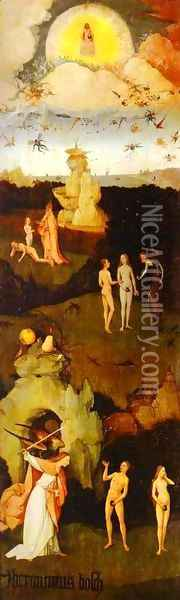 Paradise Oil Painting - Hieronymous Bosch