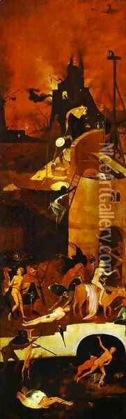 Hell 3 Oil Painting - Hieronymous Bosch