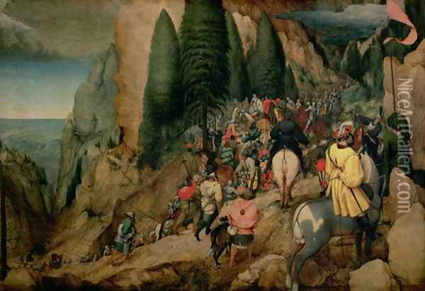 Conversion of St Paul 1567 Oil Painting - Jan The Elder Brueghel