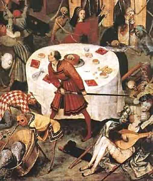 The Triumph Of Death (Detail) C1562 Oil Painting - Jan The Elder Brueghel