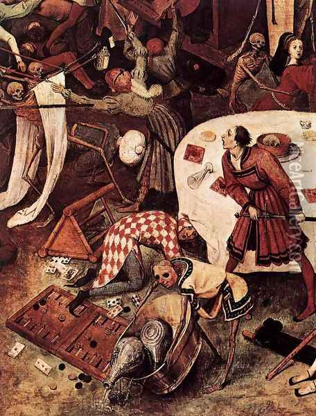 The Triumph of Death (detail) 1562 2 Oil Painting - Jan The Elder Brueghel