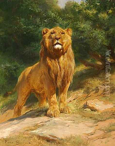 The King 1888 Oil Painting - Rosa Bonheur