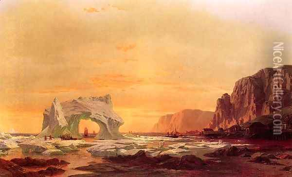 The Archway Oil Painting - William Bradford