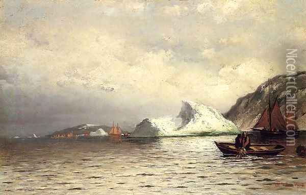 Pulling in the Nets Oil Painting - William Bradford