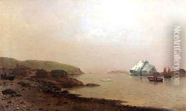 The Labrador Coast Oil Painting - William Bradford