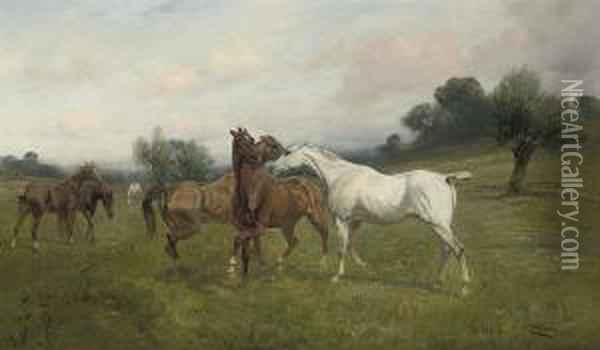 Spring Fever Oil Painting - George Wright
