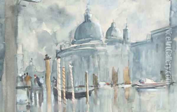 The Grand Canal, Venice Oil Painting - Hercules Brabazon Brabazon