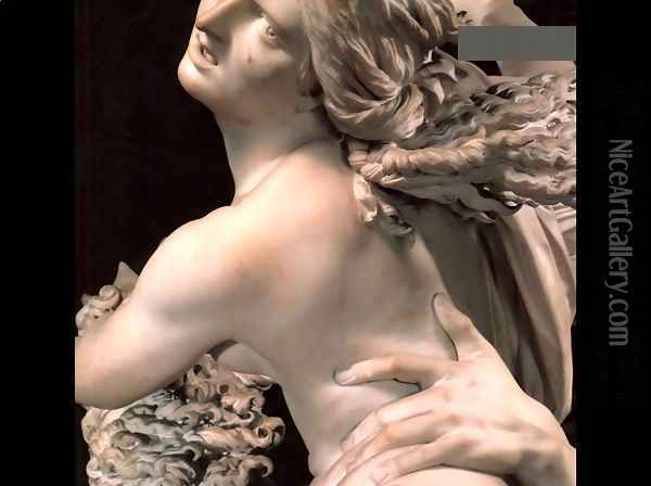 Rape of Proserpine [detail: 1] (or Pluto and Proserpine) Oil Painting - Gian Lorenzo Bernini