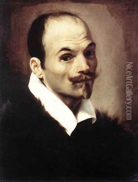 Self-Portrait 1615 Oil Painting - Orazio Borgianni