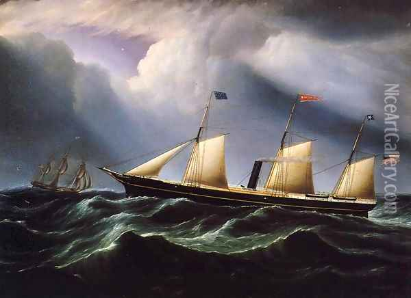 Star of the South Oil Painting - James E. Buttersworth