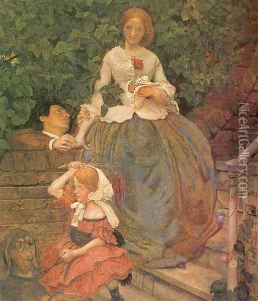 Stages of Cruelty Oil Painting - Ford Madox Brown