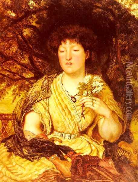 May Memories Oil Painting - Ford Madox Brown