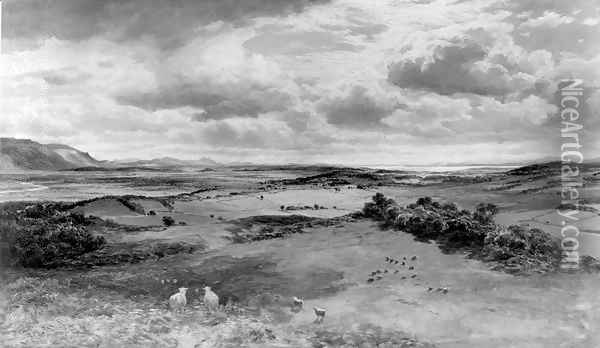The Field of Bannockburn Oil Painting - Samuel Bough