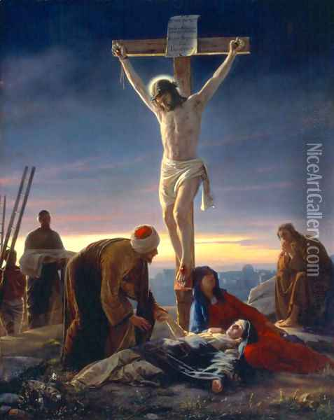 The Crucifixion Oil Painting - Carl Heinrich Bloch