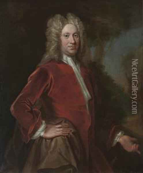 Portrait Of Charles, 9th Lord 