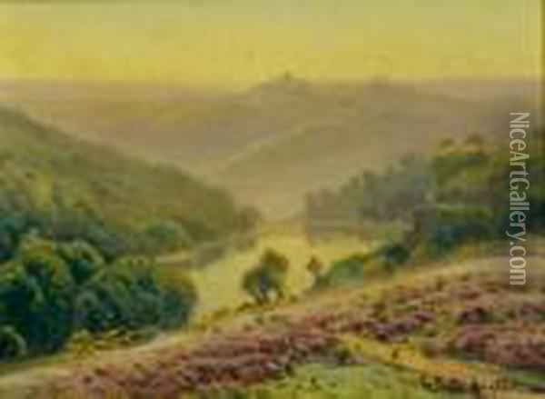 Paysage Vallonne Oil Painting - Gaston Anglade
