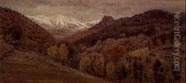 In the Puy-de-Dome Oil Painting - George Price Boyce