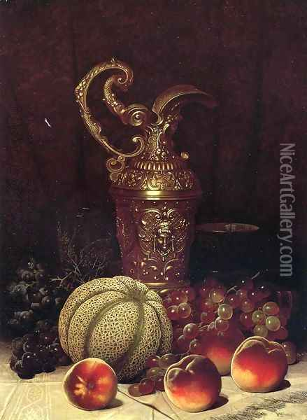 Still Life Oil Painting - William Mason Brown