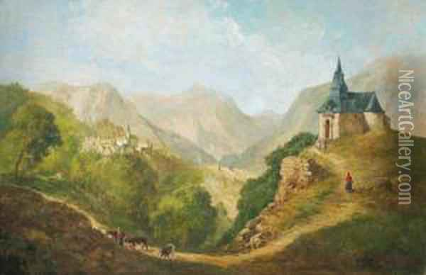 Paisaje De Montanas Oil Painting - Jan Asselyn
