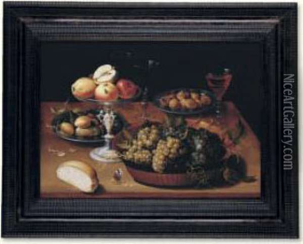 Grapes In A Dish, Apples In A 