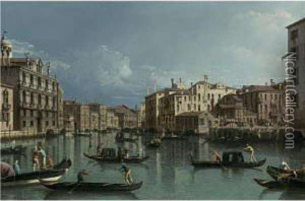 The Grand Canal, Looking North 