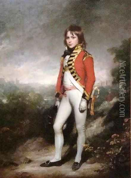 Master James Hatch Oil Painting - Sir William Beechey