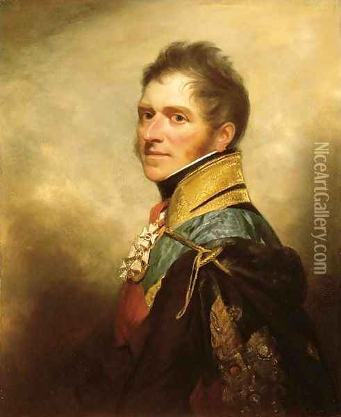 Portrait of Henry William Paget, 1st Marquess of Anglesey (1768-1854) Oil Painting - Sir William Beechey