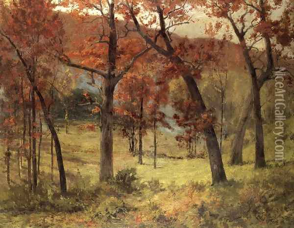 The Clearing Oil Painting - Charles DeWolf Brownell