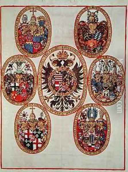 Coats of Arms Oil Painting - Theodore de Bry