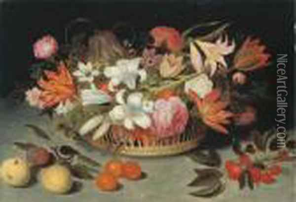 Lilies, Tulips, Roses, 
