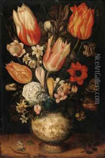 Tulips, Roses, Narcissi, 