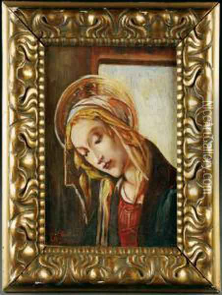 Untitled Oil Painting - Sandro Botticelli