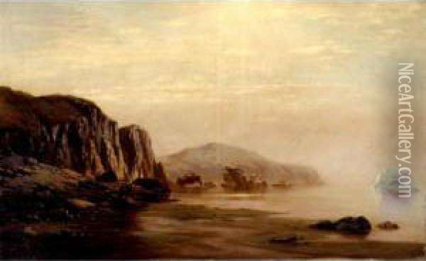 Seascape Oil Painting - William Bradford