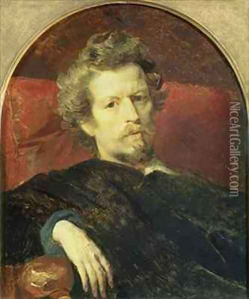 Self Portrait Oil Painting - Karl Pavlovich Bryullov