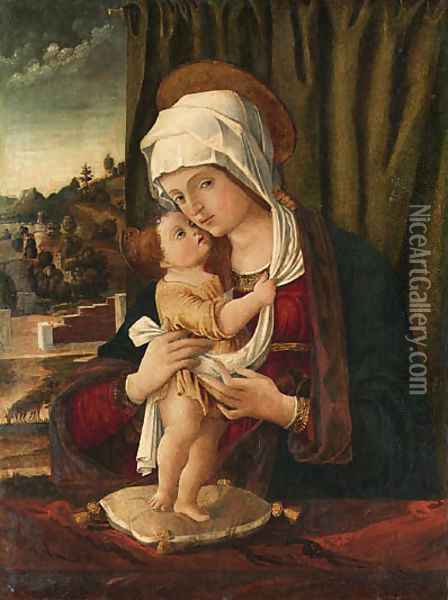 The Madonna and Child 2 Oil Painting - Giovanni Bellini