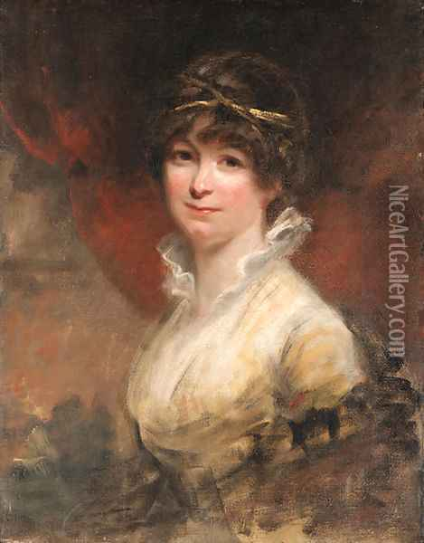 Portrait of a lady Oil Painting - Sir William Beechey