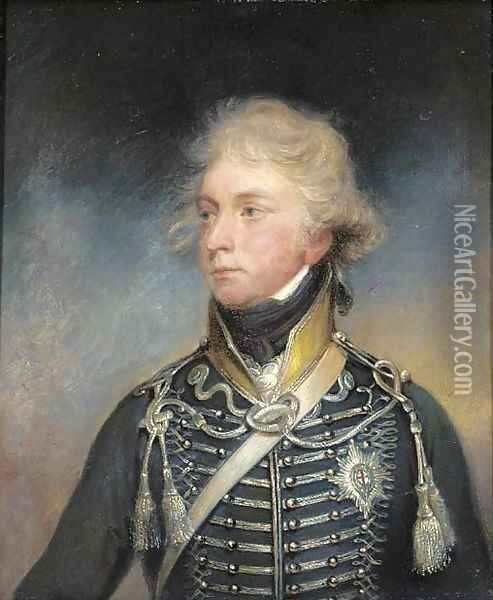 Portrait of George IV Oil Painting - Sir William Beechey