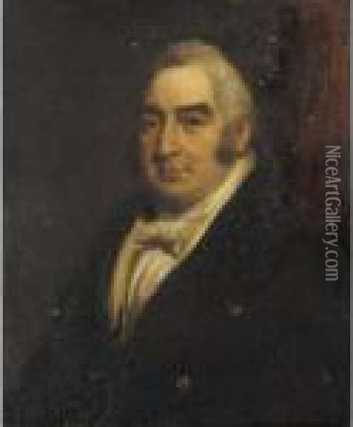 Portrait Of Thomas Fermor, 4th Earl Of Pomfret (1770-1833) Oil Painting - Mather Brown
