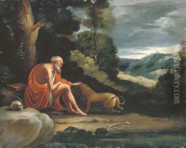 Saint Jerome in the Wilderness Oil Painting - Paul Bril