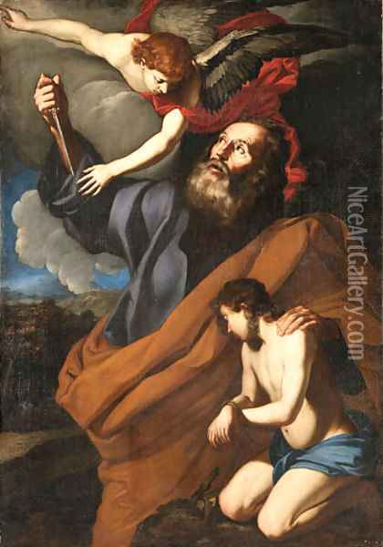 The Sacrifice of Isaac Oil Painting - Agostino Beltrano