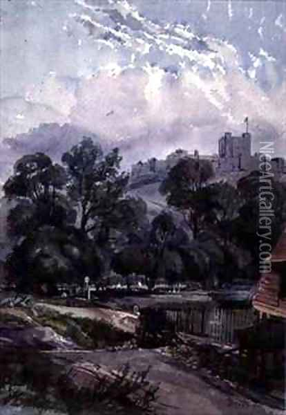 Dover Castle Oil Painting - William, of Dover Burgess