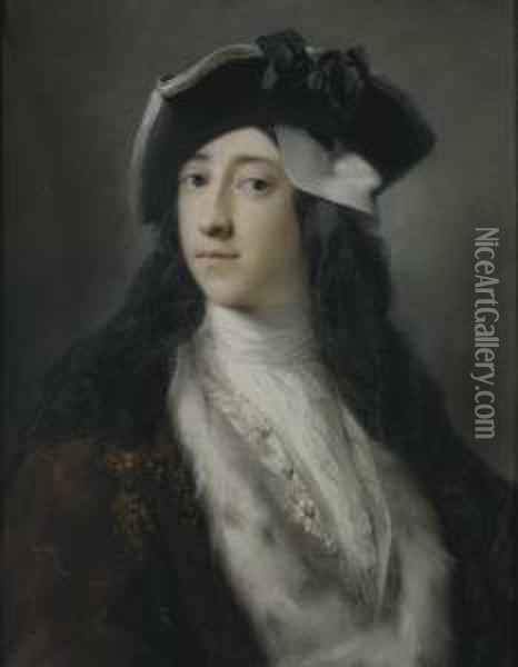 Portrait Of Gustavus Hamilton 