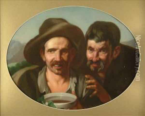 The Beggar's Bowl Oil Painting - Giacomo Ceruti (Il Pitocchetto)