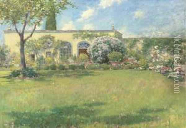 The Orangerie Oil Painting - William Merritt Chase