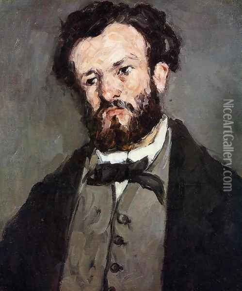 Anthony Valabregue2 Oil Painting - Paul Cezanne