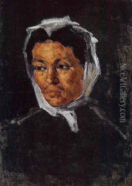 The Artists Mother Oil Painting - Paul Cezanne