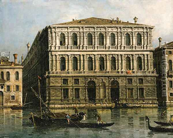 Canaletto Oil Painting - (Giovanni Antonio Canal) Canaletto