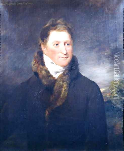 Portrait of Greswold Lewis (d.1819) of Malvern Hall, Warwickshire Oil Painting - John Constable