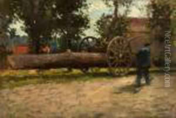 Logger In Brittany